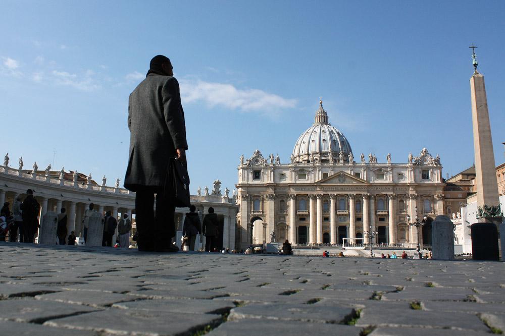 В Ватикане готовились прощаться с уходящим Папой.